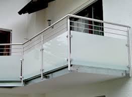edelstahl balkon mit glas metallbau hartmann rohrbiegen nach maß auspufffertigung