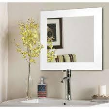 home depot bathroom mirrors square bathroom mirrors bath the home depot amazing mirror 13