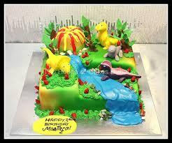 dinosaur cakes theme cake