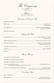 programs for a wedding wedding programs wedding program wording program sles program
