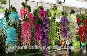 Bulk Wedding Flowers Factory Price Bulk Wedding Flower Wisteria Artificial Silk