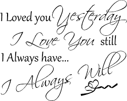 Family And Love Quotes by Forever And Always I Will Always Love You My