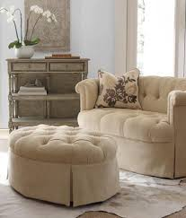 White Tufted Loveseat Tufted Loveseat With Ottoman Apartment Ideas Pinterest