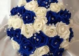 wedding flowers royal blue royal blue and ivory wedding flowers floral wedding