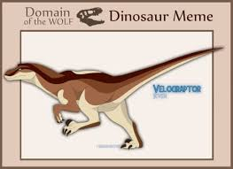 Meme Dinosaur - dinosaur meme on domain of the wolf deviantart