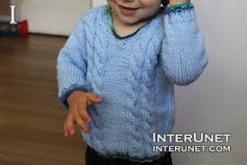 how to knit a sweater how to knit a sweater for baby or toddler tutorial with