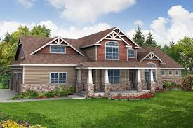 awesome 9 craftsman home plans on home narrow lot house plans