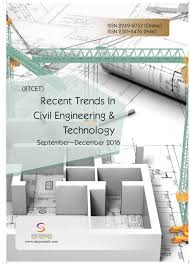 recent trends in civil engineering u0026 technology vol 6 issue 3 by