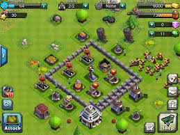 wallpapers clash of clans pocket minecraft pixel art clash of clans images