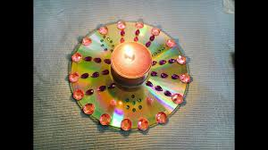 diy diwali special candle holder candle holder with recycling