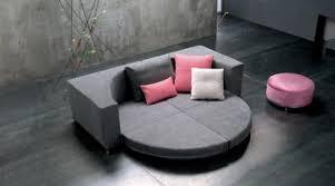 nice sofa bed nesting the round convertible sleeper sofa by saba italia