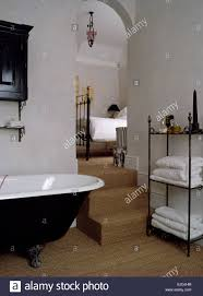 Wrought Iron Bathroom Furniture by Sisal Carpet And Freestanding Wrought Iron Shelf Unit In Nineties