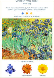 19 flowers paired with famous paintings ftd com