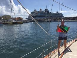 St Kitts Flag Roger Family Sailing Adventures November 2017