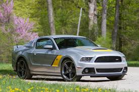 2014 ford mustang roush photo gallery roush shows 2014 stage 3 mustang in silver and