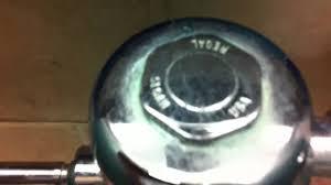 Eljer Flapper Valve Eljer Sloan Flushometer Youtube