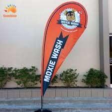 Custom Swooper Flags Merry Xmas Windless Customized Feather Flutter Swooper Christmas