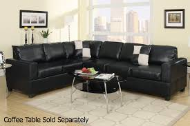 Cheap Black Leather Sectional Sofas Black Leather Sectional Sofa A Sofa Furniture Outlet Los