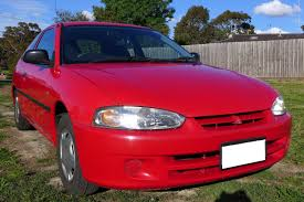 mitsubishi 2 door car mitsubishi mirage 3 door hatchback 1999 1 5l manual melbourne
