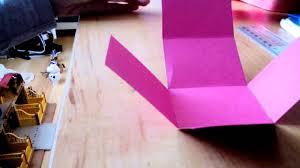 boite emballage cadeau en carton diy 2 faire une boîte en carton facile youtube