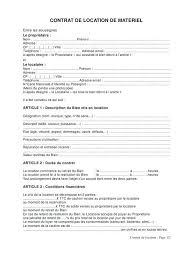 location materiel de cuisine location materiel cuisine contrat de location non meuble pdf 1 table