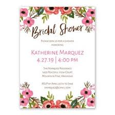 bridal shower invitation blooming beauty bridal shower invitation s bridal bargains
