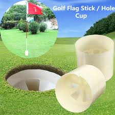 professional backyard practice golf flag stick putting plastic