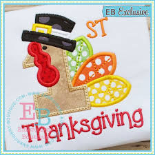thanksgiving applique