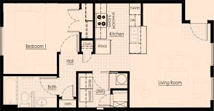 1 bedroom apartment floor plans floor plans amc property management