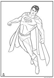 superman coloring pages printable 21