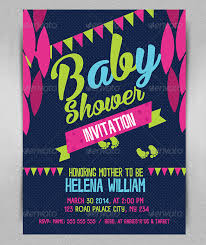 baby shower invitation template 26 free psd vector eps ai