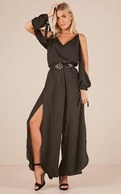 express black jumpsuit playsuits shop playsuits jumpsuits australia showpo
