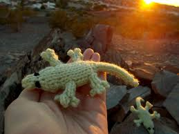 free pattern fridays u2013 gecko lizards from the needles of