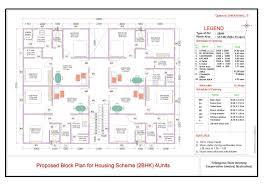 telangana housing scheme 2bhk design 2bhk plan telangana housing