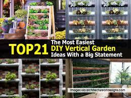 Diy Vertical Herb Garden Top 21 The Most Easiest Diy Vertical Garden Ideas With A Big Statement