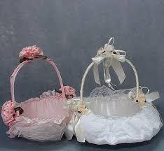 cheap ribbon lovely lace flower girl baskets ribbon ruffle photography props