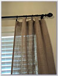 Making Kitchen Curtains by Decorating Make Your Home More Beautiful With Burlap Curtains For