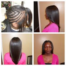 Types Of Sew In Hair Extensions by Before U0026 After Sew In Weave W Brazilian Hair 150 Value 185 Yelp
