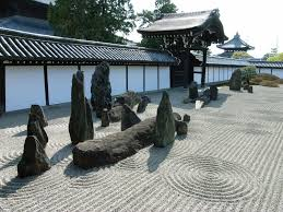 Zen Rock Garden by Japanese Rock Garden 枯山水 Karesansui