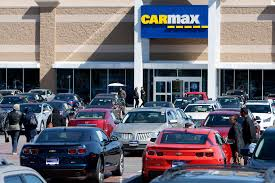 carmax auto finance income takes a tumble