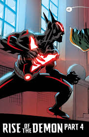 batman beyond terry gets tuned up by damian wayne in this exclusive first look