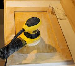 Spraying Kitchen Cabinet Doors by Refinishing Kitchen Cabinets Huffpost