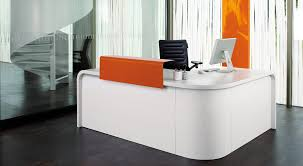 Standing Reception Desk by Office Table Modern Reception Desk White Modern Hotel Reception