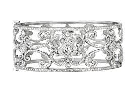 diamond bracelet cuff images Penny preville diamond scroll cuff bracelet b8690w cachet jpg