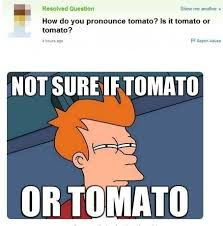 Pronounciation Of Meme - amazing pronunciation of meme tomato the meta picture kayak