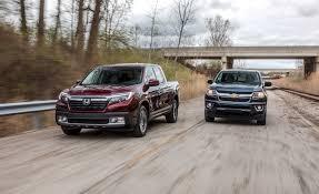 honda car comparison 2017 chevrolet colorado 4wd vs honda ridgeline awd comparison