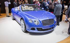 bentley blue 2014 bentley continental gt speed convertible u2013 news u2013 car and driver