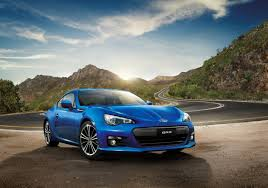 subaru brz matte blue subaru brz revised with suspension and styling tweaks for 2015