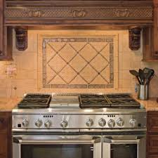 backsplash for stove kitchen with black cabinets with white trim