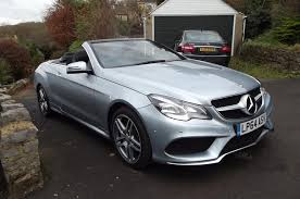 convertible mercedes 2015 used 2015 mercedes benz e class e250 cdi amg sport for sale in
